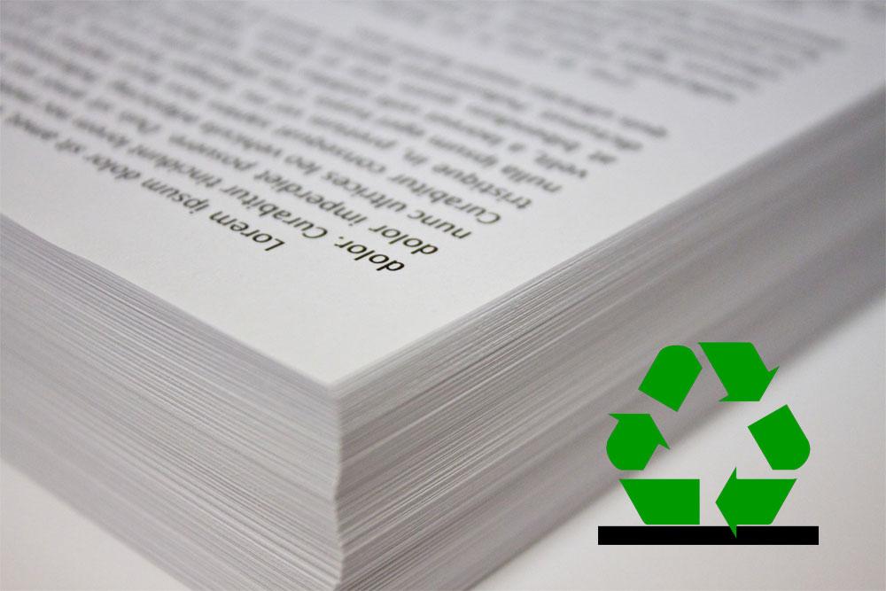 Reutilizar Papel Impreso Responsabilitic